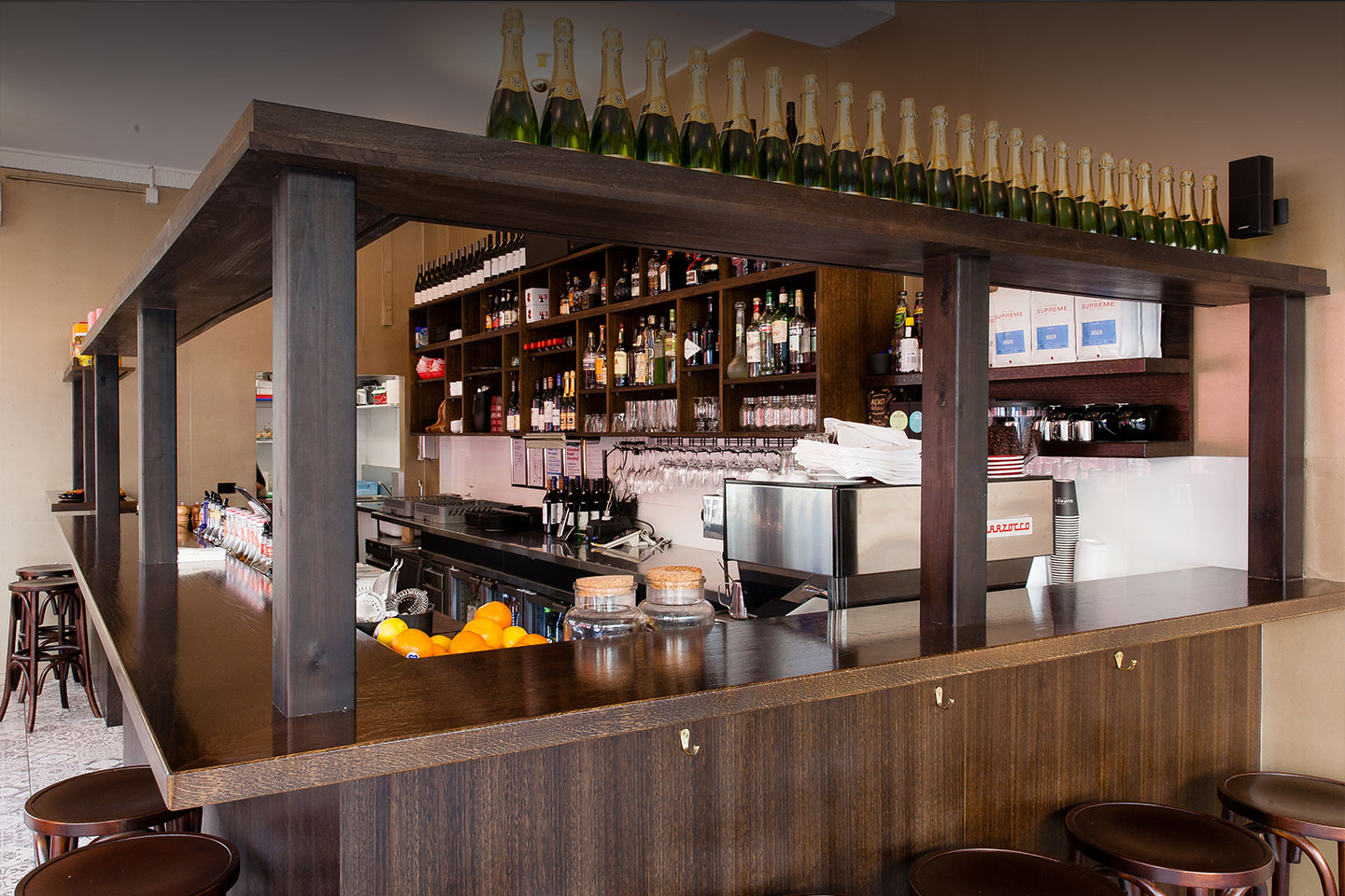 Cabinet Bar, your home away from home